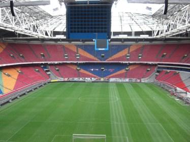 Panorámica gracas Amsterdam Arena