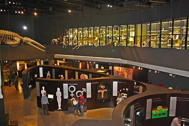 Área biología Parque de las Ciencias Granada