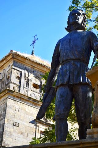 Escultura ayuntamiento Úbeda Jaén