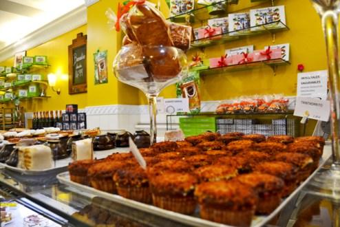Pasteles confitería Barrenetxe centro San Sebastián Donosti
