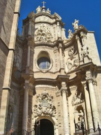 Fachada barroca Catedral València