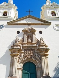 Fachada Barroco Basílica Nuestra Señora Fuensanta Murcia