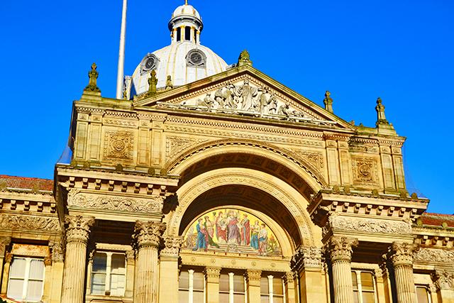 Fachada ayuntamiento Birmingham Victoria Square