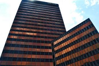 Picado torres sede BBVA Bilbao
