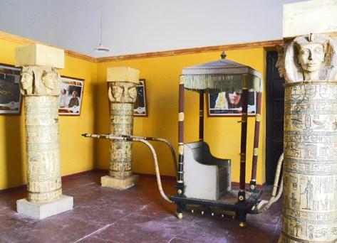 Estudios cine plató decoración Egipto Ouarzazate Hungría