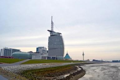 Vistas Mar del Norte Hotel Atlantis Bremerhaven Alemania