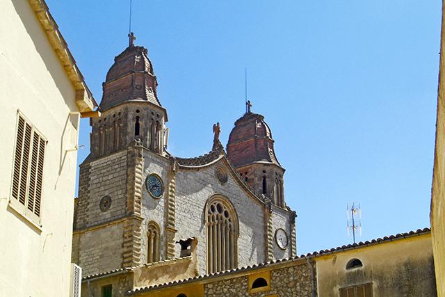 Iglesia San Juan Bautista Calvià Mallorca