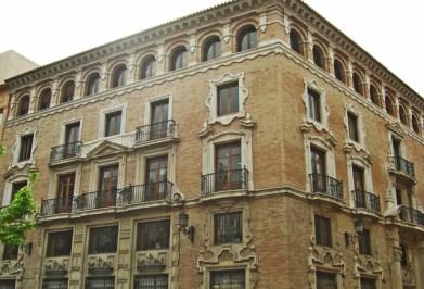 Casa Palacio de los Pagan en el corazon de la Plaza de Santo Domingo