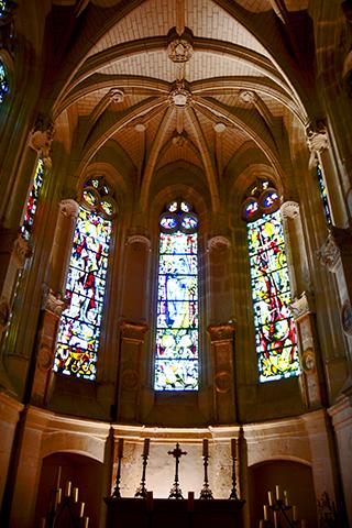 Vidrieras interiores Castillo Chenonceau
