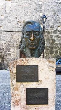 Busto escultura Frédéric Chopin Valldemossa