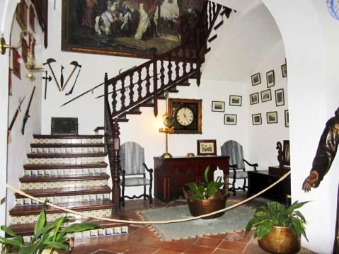 Entrada vivienda alquiler Frédéric Chopin Valldemossa Mallorca
