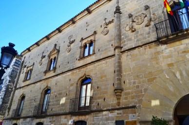 Fachada Palacio de los Salcedo Baeza Jaén