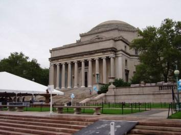 Fachada Universidad Columbia Harlem Nueva York