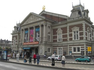Fachada Concert Brough Museum Plein Amsterdam