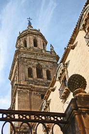Detalles torre catedral Asunción Jaén
