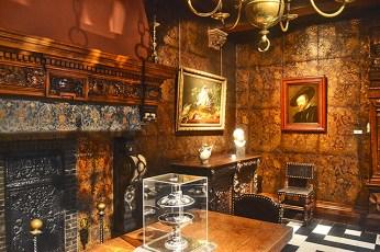 Interior salón Casa Museo Rubens Amberes