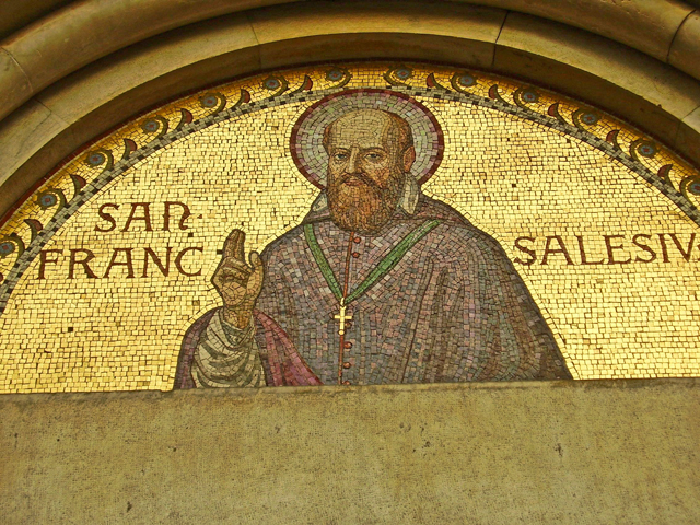 Pantócrator friso oro Instituto Salesianos Milán