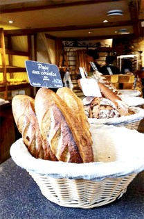 Panecillos cereales artesanos panadería Tours