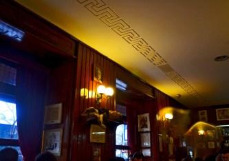 Interior Café Gijón Madrid