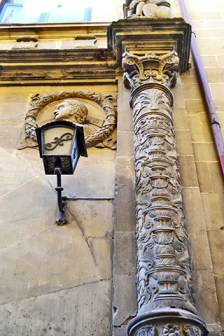 Detalle del Palacio plateresco del XVI