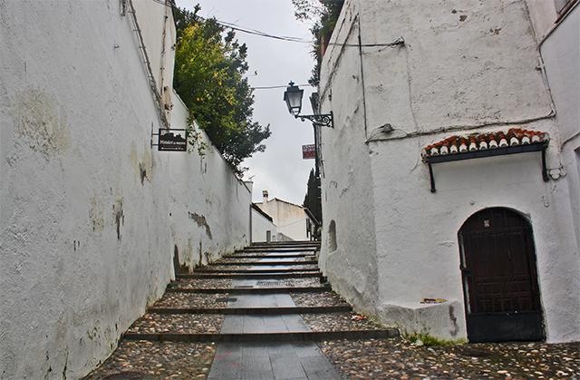 Cuesta San Agustín calles Granada