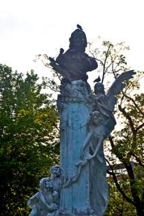 Escultura Doña Casilda parque centro Bilbao