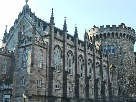Lateral castillo Dublín