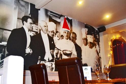 Fotografía cine blanco y negro restaurante Edward Moon Stratford-Upon-Avon