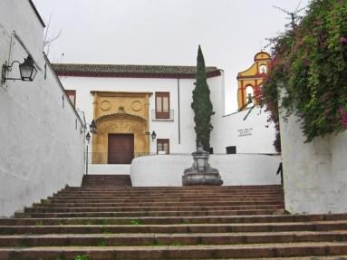 Panorámica cuesta del Bailio Cristo Faroles Córdoba