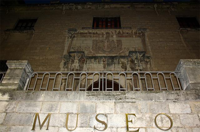 Museo Municipal arte histórico y antropología Jaén noche