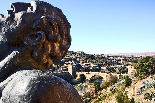 Escultura Museo Victorio Macho río Tajo Puente San Martín Toledo