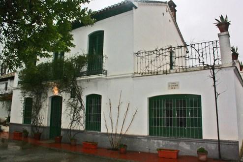Fachada Museo García Lorca Huerta San Vicente Granada