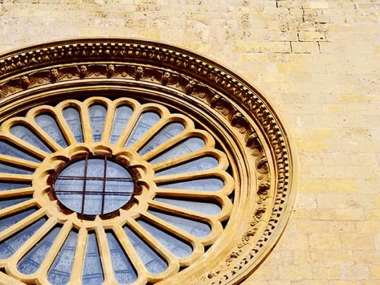 Rosetón Prioral de Sant Pere Reus
