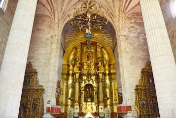 Altar mayor retablo oro Basílica Santuario Caravaca de la Cruz Murcia