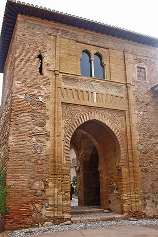 Entrada nazari a la maravilla de Alhambra