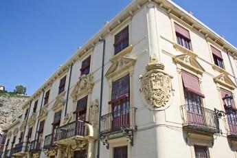 Escudo heráldico Palacio del Marques de Rafal de Orihuela