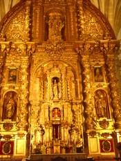 Retablo oro Catedral Baeza