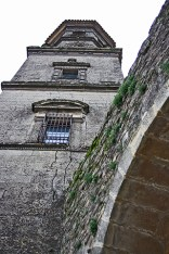 Picado torre campanario catedral Baeza