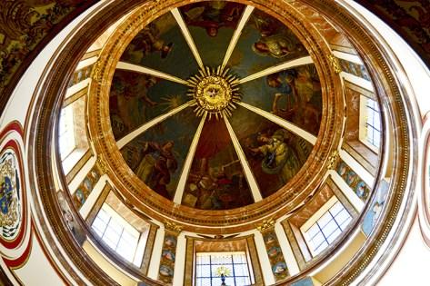 Cúpula frescos Museo Diocesano Catedral Tarragona