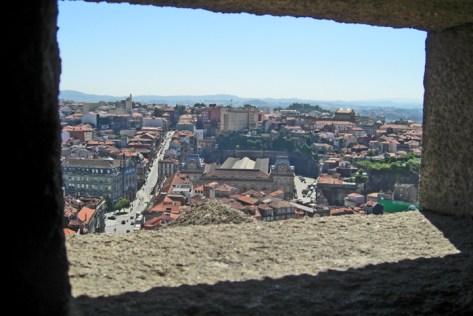 Vistas Oporto desde Torre dos Clerigos