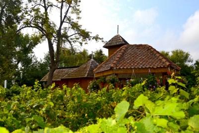 Jardines isla Monasterio Snagov Rumanía