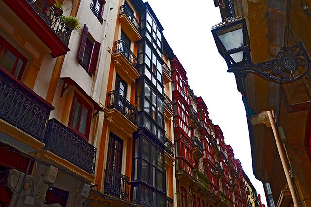 Viviendas típicas tradicionales Casco Viejo Bilbao