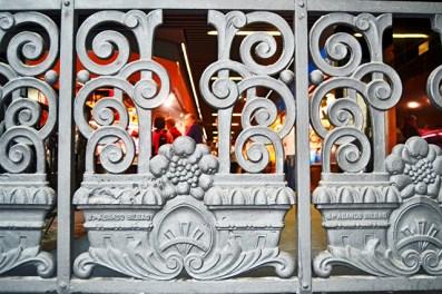 Hierro forjado Modernismo decoración Mercado de la Ribera Bilbao