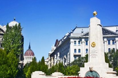 Panorámica Plaza de la Libertad Budapest