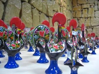 Gallo Barcelos souvenir porcelana Coimbra Portugal