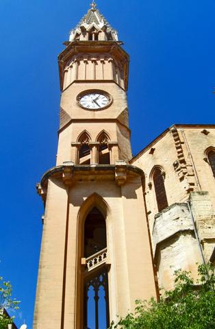 Torre reloj ayuntamiento Manacor Mallorca