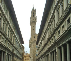 Ayuntamiento Galería Uffizzi Florencia