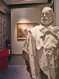 Escultura Garibaldi Museo de Il Risorgimento Milán