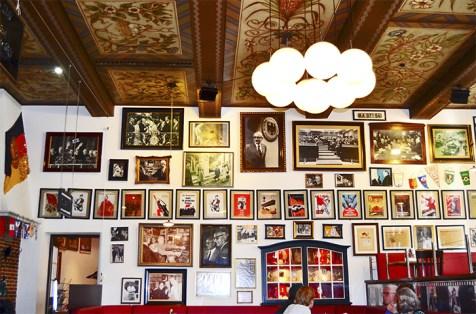 Colección fotografías marcos restaurante típico tradicional alemán centro Bremen