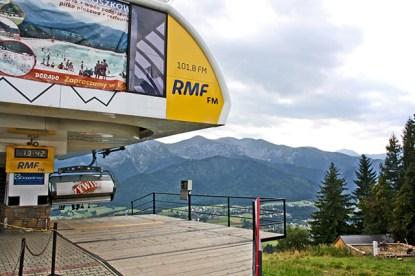 Telesilla estación esquí Zakopane Polonia